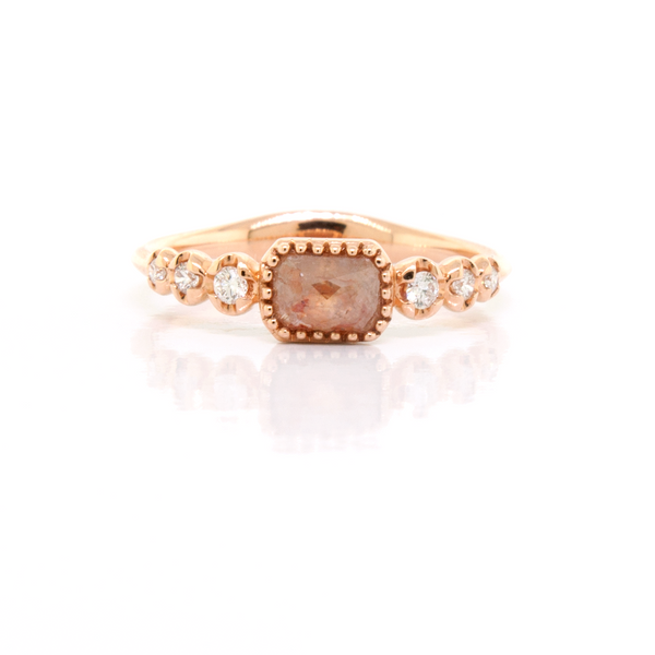 Champagne Diamond Ring - available on special order