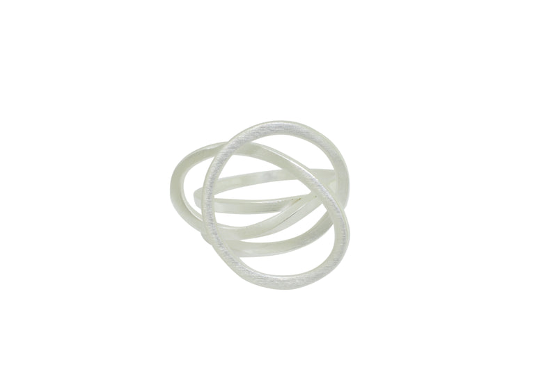 Sterling Silver Multi Swirl Ring
