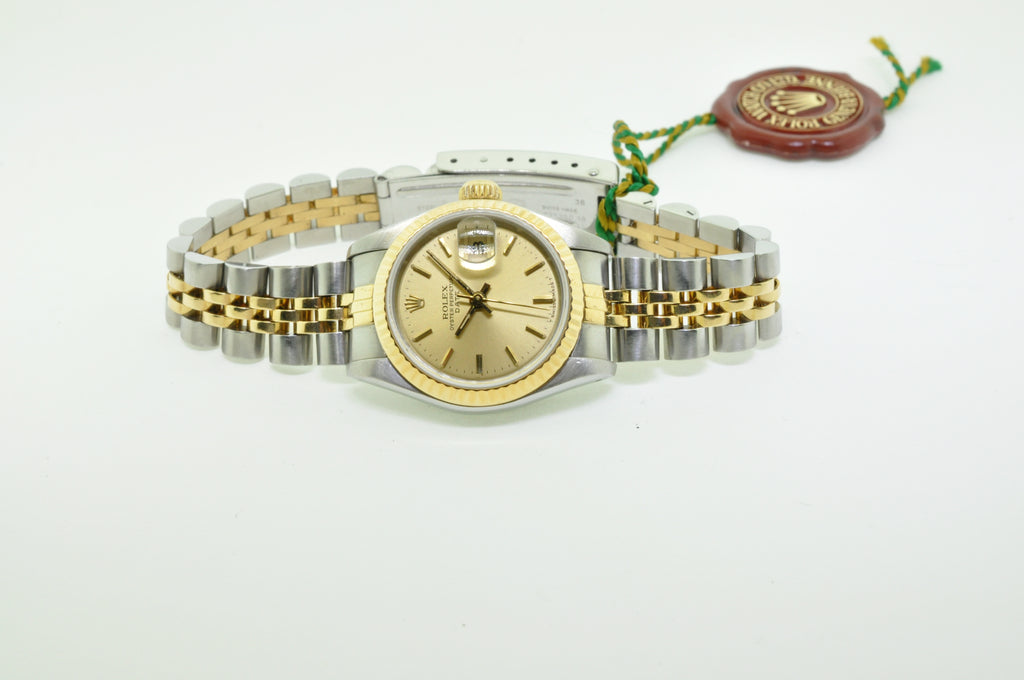 Rolex Datejust-ladies two-tone jubilee