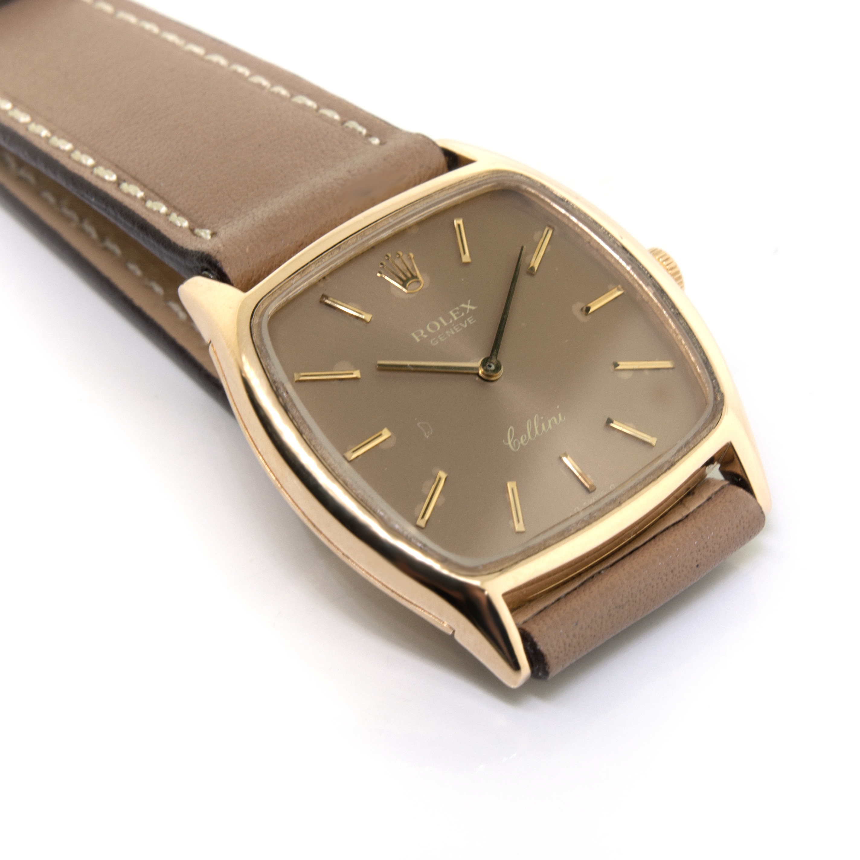 Rolex Cellini 18K yellow gold watch