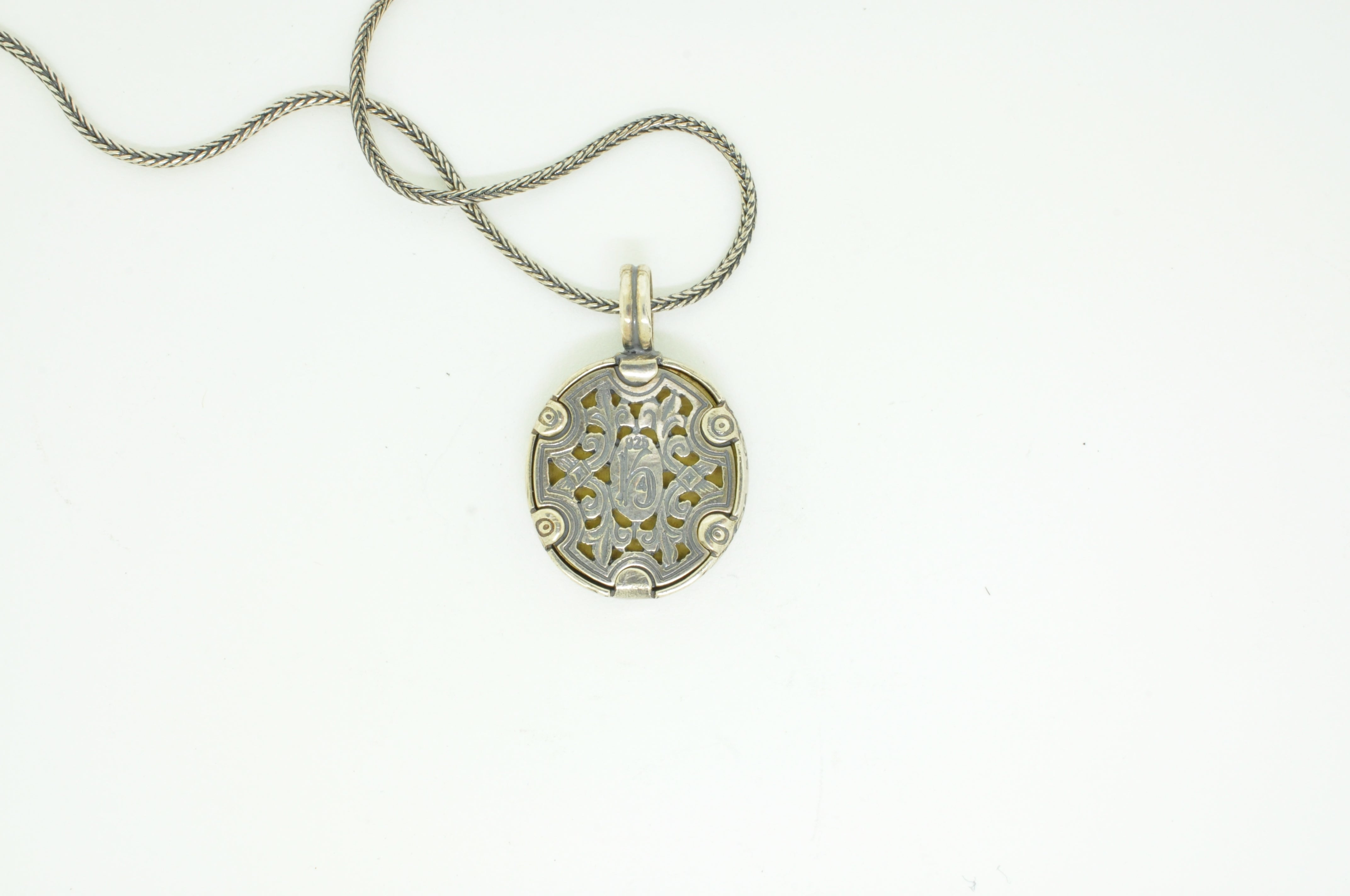 Bronze Turtle Pendant Necklace