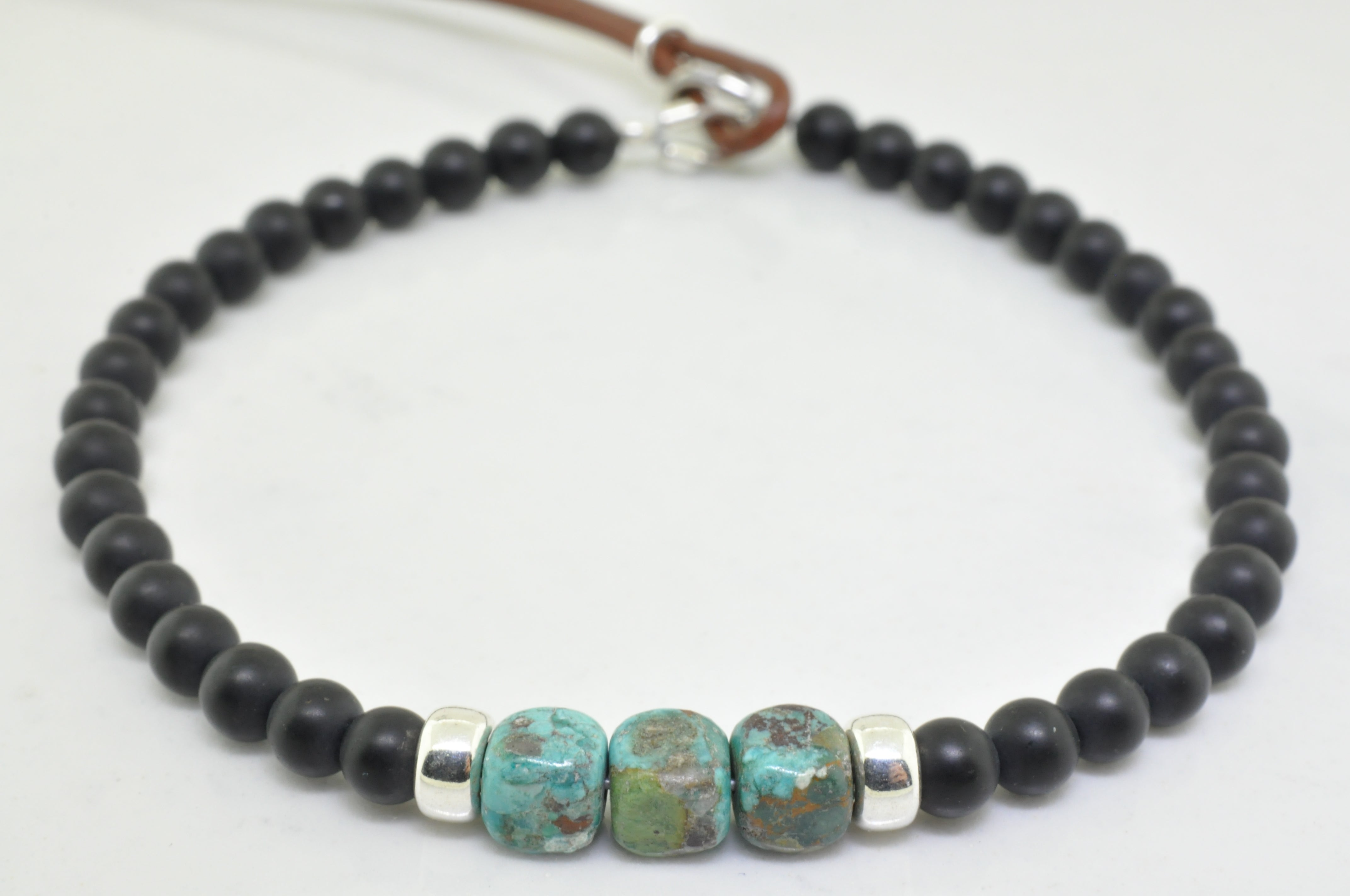 "Men's ""Nappili"" Turquoise Bracelet - available on special order"