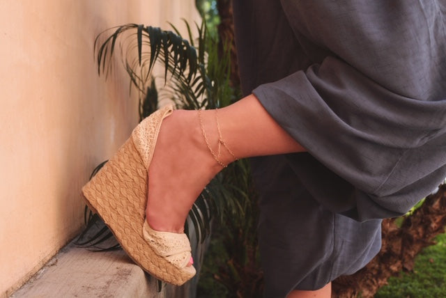 Yellow Gold Filled Anklets- new item!