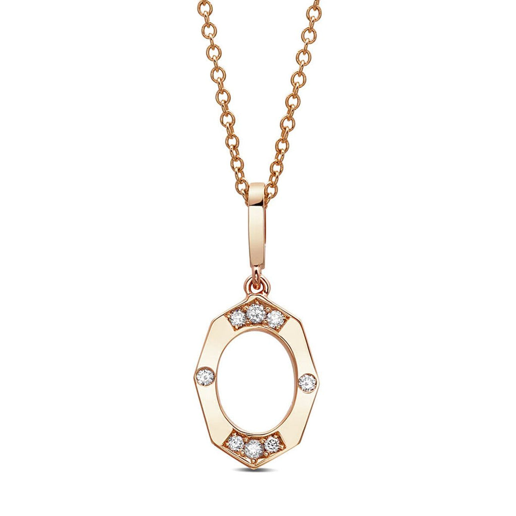 Diamond Affinity Circle Pendant Necklace - available on special order