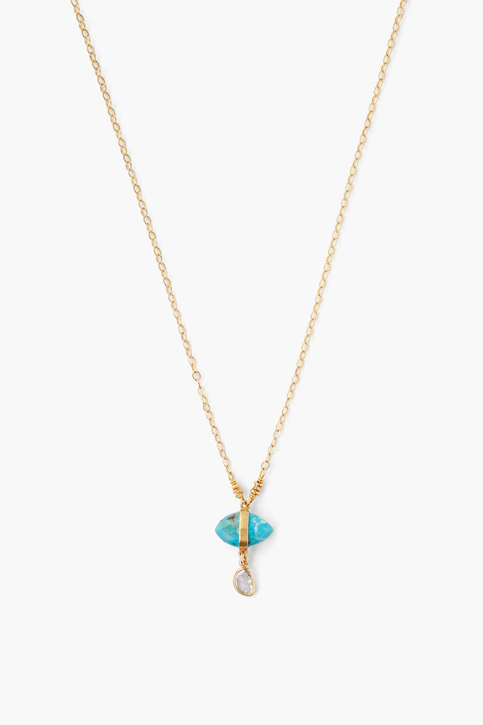 Turquoise Necklace by Chan Luu
