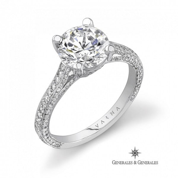 Solitaire Engagement Ring (setting only)