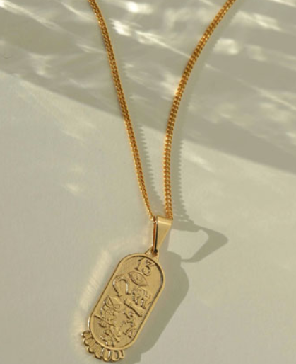 "Gold-filled ""All The Luck"" Necklace"