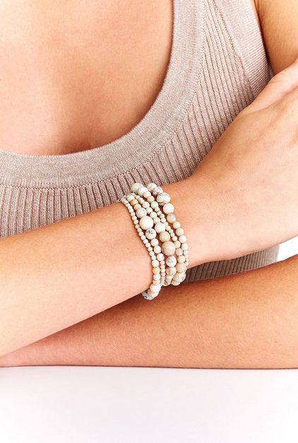 Sunstone Wrap Bracelet / Long Necklace
