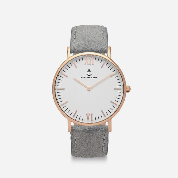 Kapten & Son White Dial Watch
