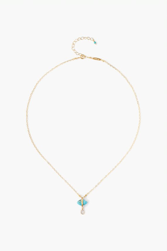 Marquis Turquoise Necklace