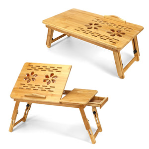 Bamboo Portable Laptop Table