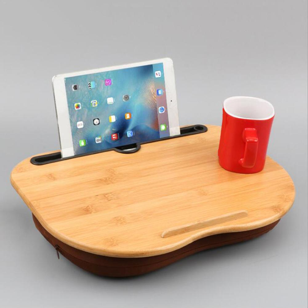 Portable Bamboo Laptop Table
