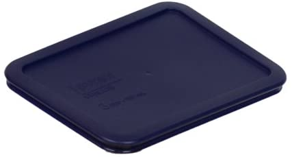 Pyrex 7210-PC 3 Cup Rectangle Blue Lid
