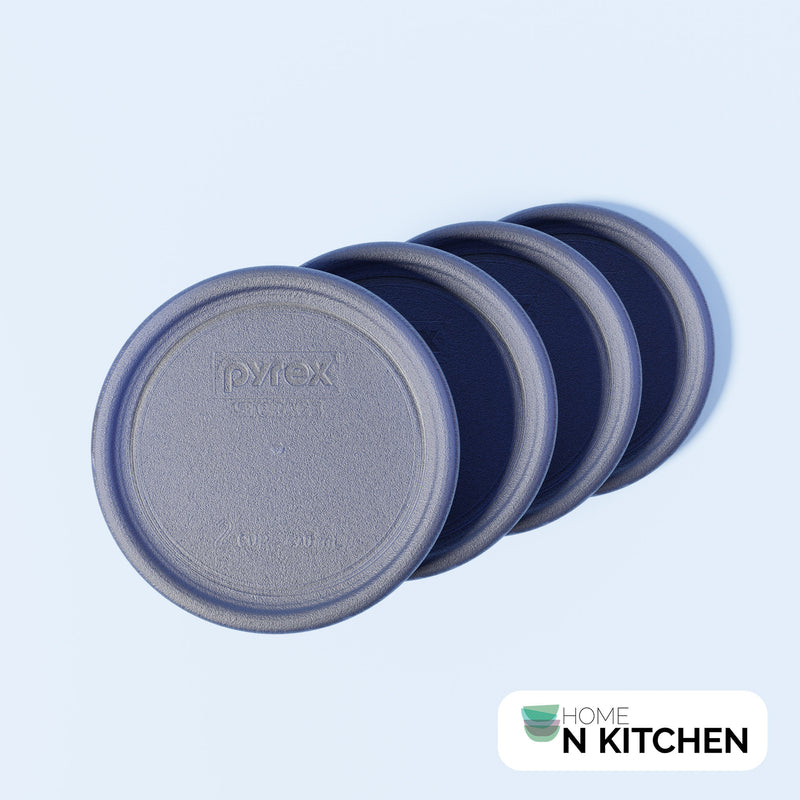 Pyrex 1-Cup Blue Round Replacement Lid
