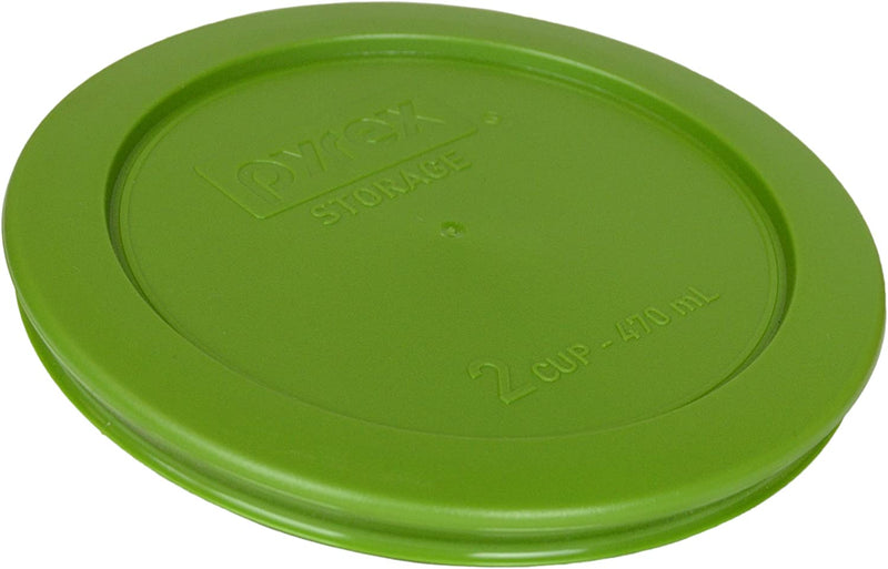 Pyrex 2 Cup Round Storage Lid for Glass Bowls (Lawn Green)