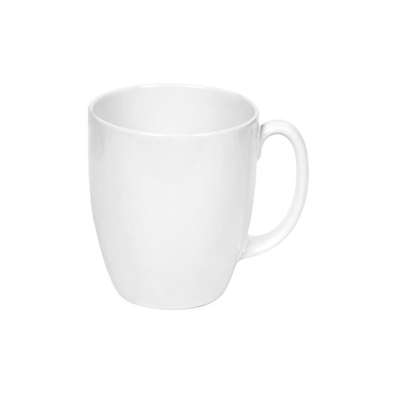 CORELLE Winter Frost White Stoneware Mug for All Hot Beverages, 11oz (3145)