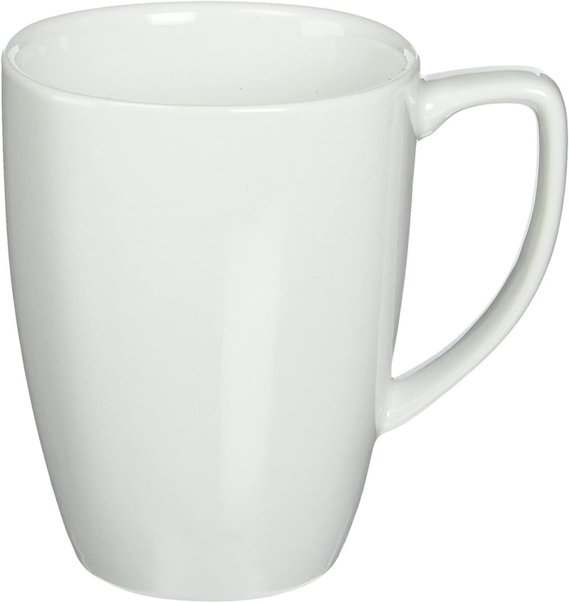 CORELLE Porcelain Pure White Square Mug 12 oz
