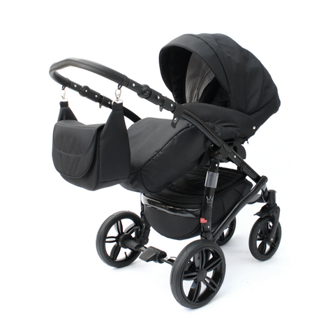 Image of The Crown Kids Jiro zwart 3-in-1 (incl. accessoires)
