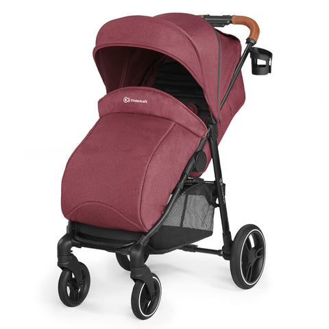 Image of Kinderkraft Grande buggy LX Burgundy