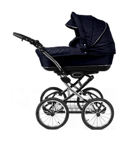 The Crown Kids SIXXMO 3-in-1 donkerblauw (incl. accessoires)