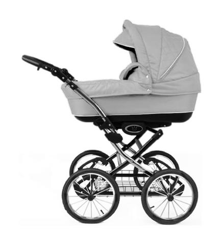 The Crown Kids 3-in-1 set SIXXMO lichtgrijs (incl. accessiores) - uwkinderwagen.nl