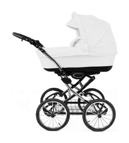 The Crown Kids 3-in-1 set SIXXMO wit (incl. accessiores) - uwkinderwagen.nl