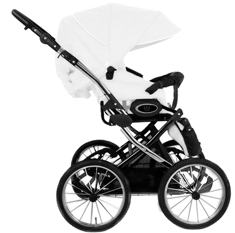 Image of The Crown Kids 3-in-1 set SIXXMO wit (incl. accessiores) - uwkinderwagen.nl