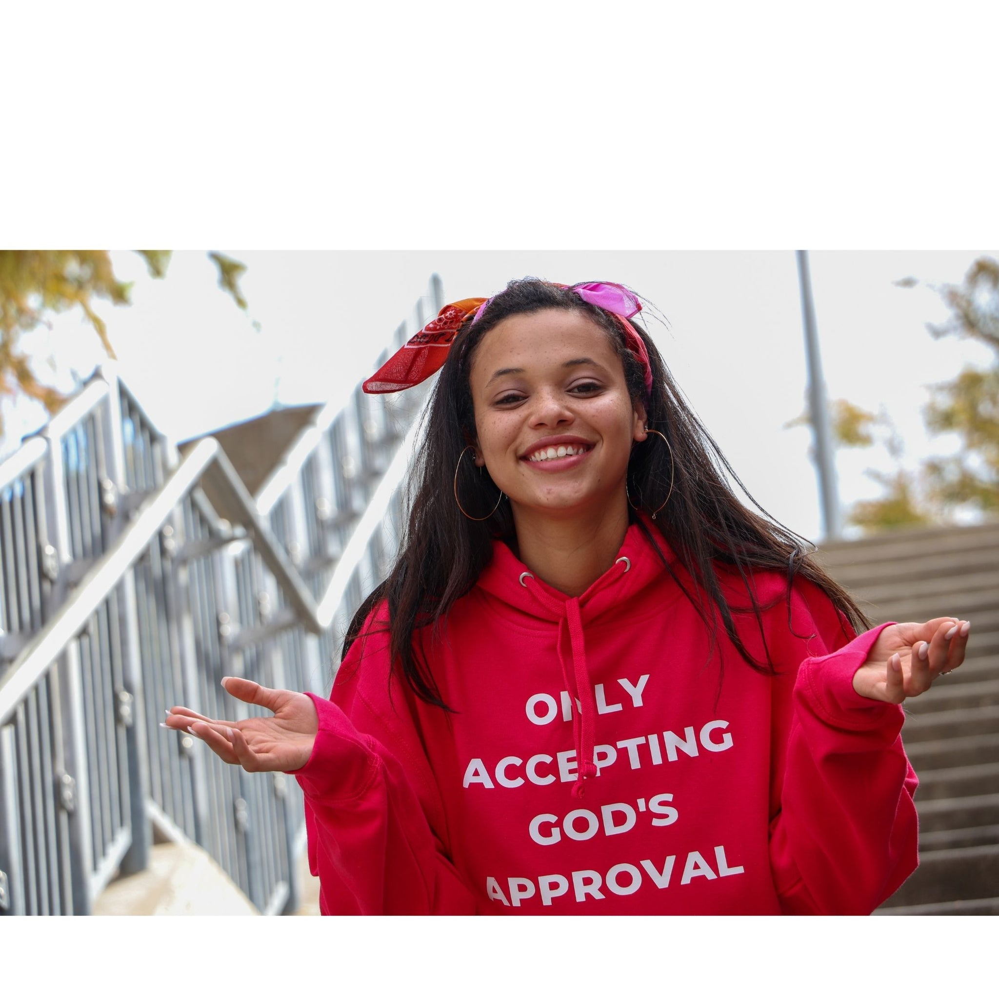 GOD'S APPROVAL ONLY PULLOVER
