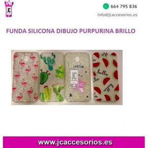 "Apple Iphone XR 6.1"" Funda Silicona Brillante Dibujo Variado - JC"