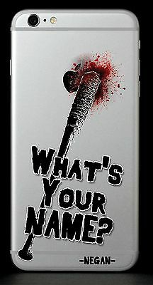 COVER IPHONE 7 The Walking Dead Negan Lucille - EUR 500  PicClick IT