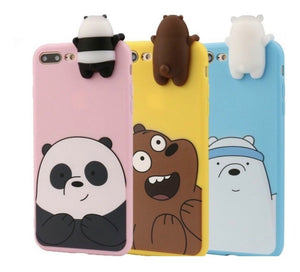 Case funda iphone 6 6+ 7 7+ 8 8+ x xs xr max oso escandaloso en