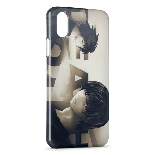 Fundas iPhone X & XS Death Note 5