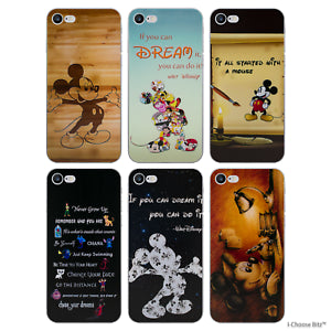 Disney Funda Gel para Apple IPHONE 7 4.7 Inch Protector de