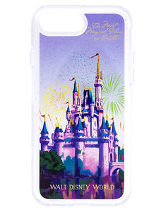 Disney Otterbox Funda ✿ iPhone 8/7 8+ Cinderella Castillo más