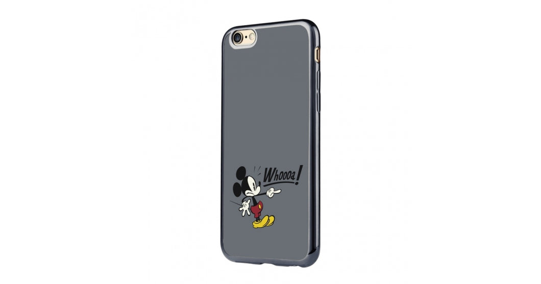 Disney funda Apple iPhone 7 Mickey Mouse Whoooa negra de Disney en