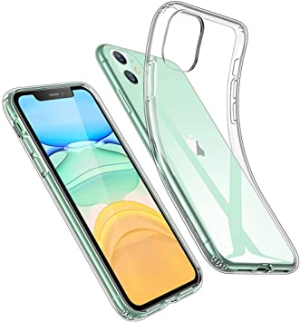 ESR Funda Transparente Serie Essential Zero para iPhone 11 Suave