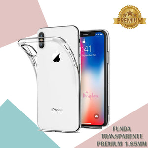 "Funda Iphone 11 6.1"" Funda Silicona Transparente Premium 185mm"