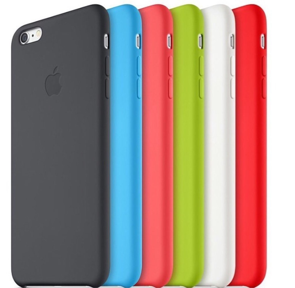Funda Iphone 5 6 6s Plus Apple Original Silicona Soft Centro! - printpeace