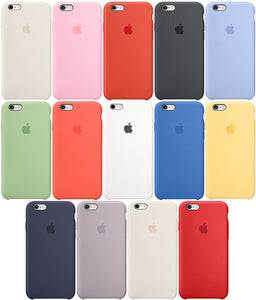 Funda Iphone 6 7 8 Plus Apple Original Silicona Case Centro en - printpeace