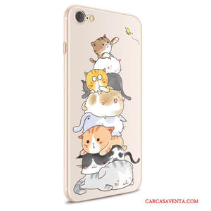 Funda Iphone 8 Dibujos Animados Pu Transparente Carcasa Iphone 8