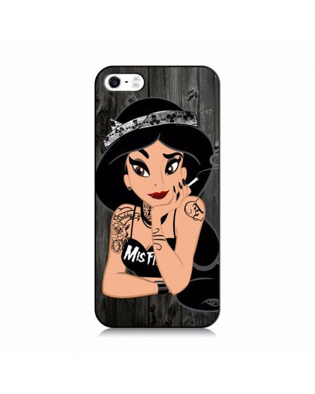 Funda Princesa Disney Jasmin Tatuajes para iPhone