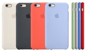 Funda Silicone Case Iphone 7 Plus Original Protector Colores - printpeace