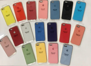 Funda Silicone Silicona Case Iphone 5/se Apple Original Soft - printpeace