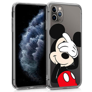 Funda iPhone 11 Silicona Disney Mickey Mouse - Canarias - KWIX