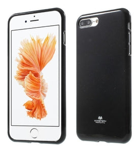 Funda iPhone 8 7 Goospery I Jelly Pearl Black Original - printpeace