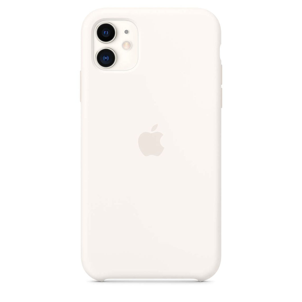 Funda para iPhone 11 Silicona color Blanco de Apple  K-tuin