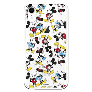 Funda para iPhone XR Oficial de Disney Minnie Siluetas