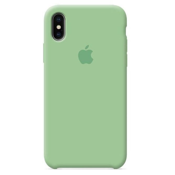 Funda silicone case original apple iphone xr green > Silicona tpu - printpeace