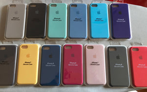 Fundas silicona con logo Apple para Iphone 6/s y 7 ----->> 15GI