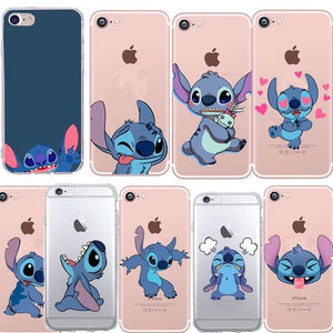 Funny Stitch Case For Iphone 7 Funda Repacement For Coque Iphone 5